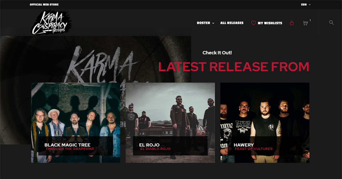 Karma Conspiracy Official Web store is finally back Online
